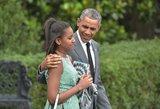 Baracko Obamos dukra užaugo: merginos įvaizdis internete sulaukė ovacijų