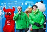 Olimpinio žiemos festivalio organizatoriai papasakojo, kaip klostėsi renginys