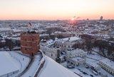 Gimtadienį švenčiantis Vilnius rengia 1-ąjį šviesų festivalį