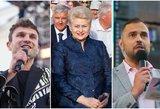 Koncerte Grybauskaitei – būrys žinomų veidų: nuo prezidentės veido nedingo šypsena