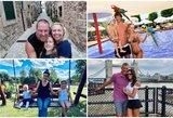 Atostogų kadruose – kitokios garsenybių pusės: žinomos šeimos pasidalijo asmeninėmis nuotraukomis