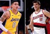 """Sabonio sužavėta """"Lakers"""" žvaigždė uždavė epinį klausimą apie lietuvį"""