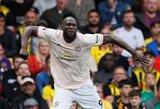 """""""Manchester United"""" išrašė pirmą pralaimėjimą """"Watford"""" futbolininkams"""