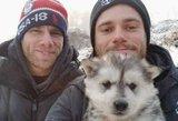 JAV olimpiečio elgesys su šiuo šuniuku sugraudins ne vieną