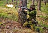 Lietuvos kariuomenėšauliamsperduoda 500 automatinių ginklų