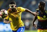 """19-metis brazilų talentas jungiasi prie Ronaldo ir """"Juventus"""" kompanijos"""