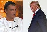 Statkevičius papasakojo apie susidūrimą su Donaldu Trumpu
