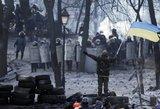 """Ukrainoje """"Svoboda"""" pranešė apie Hruševskio gatvėje sužeisto Lvovo gyventojo mirtį"""