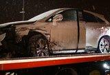"""Visiskai girtas """"Lexus"""" vairuotojas rėžėsi į kitą automobilį"""