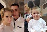 Sveiką gimusį Justą pakirto net 4 ligos: medikai iki šiol nežino kodėl
