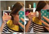 Suvyniojo plaukus į foliją: rezultatas nustebins net viską išbandžiusius
