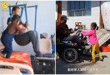 Motina paliko paralyžiuotą tėvą ir mažametę: 6-erių mergytė tapo jo rankomis