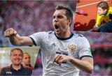 Ekspertai laukia rusų dopingo tyrimų rezultatų ir Neymaro spektaklių