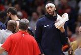 NBA lygoje – įspūdingi aukštaūgių trigubi dubliai
