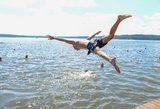 Maudynių sezonas prasidėjo: ar tikrai mokame plaukti?