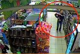 Įžūlumui ribų nėra: ieškoma vaizdo kameromis užfiksuotų nusikaltėlių