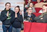 Garsūs žmonės rinkosi kino teatre: dalyvavo egzotiško filmo premjeroje