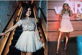 Ta pati suknelė, tik kita panelė: kuriai tiko labiau?