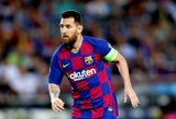 """Katalonų talismanas Messi: """"Niekada neturėjau poreikio palikti """"Barcelonos"""""""