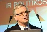 Vyriausybė pritarė Rimanto Šadžiaus kandidatūrai į Europos Audito rūmų narius