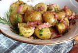 Audronės bulvyčių receptas taps firminiu: apsivalgymas garantuotas