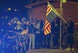 JAV pareigūnai suėmė kelias dešimtis aršiausių demonstrantų