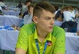 Kuo talentingas Titas Stremavičius nustebino Europos jaunimo šachmatų čempionate?
