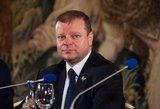 Premjeras: kovoti su korupcija gali ir pačios institucijos