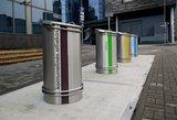 Vilniuje – 2500 nuolat prižiūrimų šiukšliadėžių, vasaros sezonu poilsio zonose papildomai pastatyti 53 buitinių atliekų konteineriai