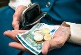Pensijas žmonės galės toliau atsiimti Lietuvos pašte