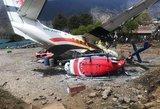 Nepale lėktuvas rėžėsi į sraigtasparnį: pranešama apie žuvusius žmones