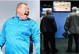 Anglijoje 53 futbolininkai įtariami lažybų pažeidimais, užkandžiavęs vartininkas – vienas jų