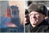 Žirinovskis apie aukų Paryžiui rinkimą: pamiršot, kad jie 1812-ais Maskvą sudegino?