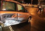 """Naujametinė avarija: pavėžėjas rėžėsi į """"Volvo"""""""