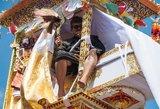 N-18: vieša karalienės palaikų kremavimo ceremonija Ubudo mieste