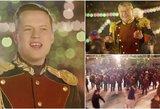 """Rusijos Nacionalinė gvardija nustebino – Raudonojoje aikštėje traukė """"Last Christmas"""""""