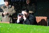 JAV atskleidė, ką darytų Šiaurės Korėjai išbandžius tarpžemyninę branduolinę raketą