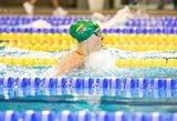 Buenos Airėse – Lietuvos jaunimo plaukimo rekordas