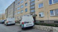 Šiurpus įvykis Vilniuje: bute rastas vyro kūnas su šautine žaizda (asoc. nuotr. Broniaus Jablonsko)