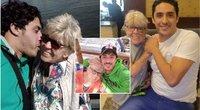 80-metę senutę vedęs vaikinas tikina, kad pinigai jam nerūpi (tv3.lt fotomontažas)