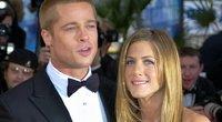 Brad Pitt ir Jennifer Aniston (nuotr. SCANPIX)