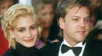 Julia Roberts and Kiefer Sutherland (nuotr. Vida Press)
