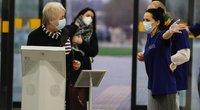 Kauno klinikose COVID-19 vakcina pradėti skiepyti medikai (nuotr. Organizatorių)