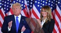 Melania Trump ir Donaldas Trumpas (nuotr. SCANPIX)