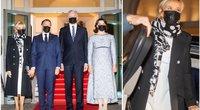 Nausėdos Macroną ir jo žmoną pakvietė iškilmingos vakarienės (Irmantas Gelūnas/Fotobankas)