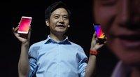 """""""Xiaomi"""" valdybos pirmininkas Lei Junis (nuotr. SCANPIX)"""