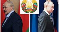 A. Lukašenka ir V. Putinas (nuotr. SCANPIX) tv3.lt fotomontažas