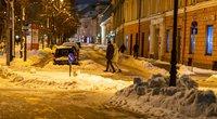 Žiema Vilniuje (nuotr. Broniaus Jablonsko)