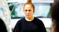 Jennifer Lopez be makiažo (nuotr. Vida Press)