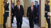 Xi Jinpingas ir Vladimiras Putinas (nuotr. SCANPIX)